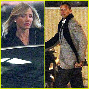 Cameron Diaz & Alex Rodriguez: Costes Couple!