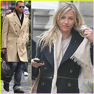 Cameron Diaz: Paris Trip with Alex Rodriguez!