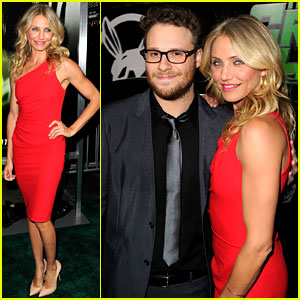 Cameron Diaz: 'Green Hornet' Premiere with Seth Rogen!