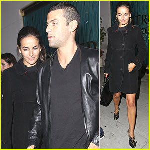 Camilla Belle: Mastro's with a Mystery Man!
