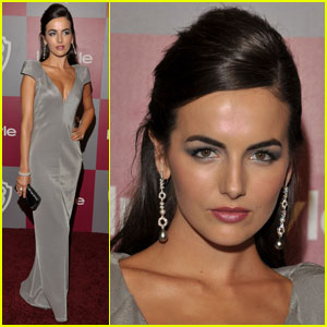 Camilla Belle: Sexy In Silver At Golden Globes After Party