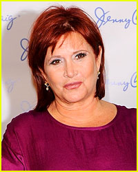 Carrie Fisher: Jenny Craig's Newest Spokesperson!