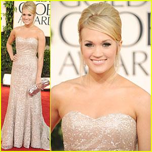 Carrie Underwood - Golden Globes 2011 Red Carpet