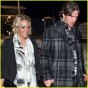 Carrie Underwood: Knicks Game with Mike Fisher!