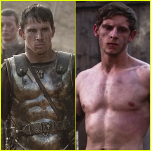 Channing Tatum & Jamie Bell: New 'Eagle' Stills!