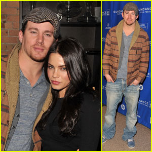 Channing Tatum: 'Son of No One Premiere' with Jenna Dewan!
