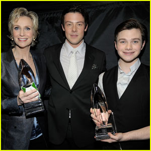Chris Colfer & Cory Monteith: Glee Wins At People's Choice