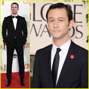 Chris Evans & Joseph Gordon-Levitt - Golden Globes 2011