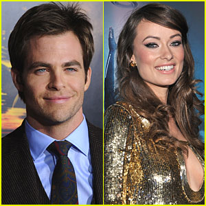 Chris Pine & Olivia Wilde: Welcome to People!