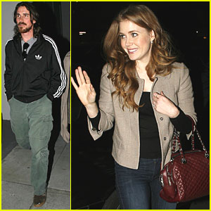 Christian Bale: Writer's Guild of America with Amy Adams!