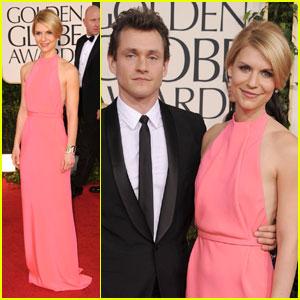Claire Danes & Hugh Dancy: Golden Globes 2011 Red Carpet