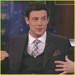 Cory Monteith Visits Jimmy Kimmel Live