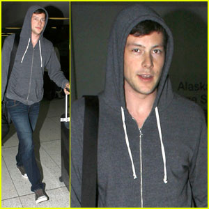 Cory Monteith: Back in Los Angeles