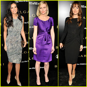 Demi Moore & Kirsten Dunst Save the Children