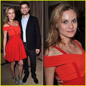Diane Kruger: 'I Am Love' Dinner with Joshua Jackson