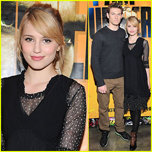 Dianna Agron & Alex Pettyfer: Signing in San Francisco!
