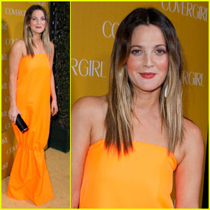 Drew Barrymore: CoverGirl 50th Anniversary Party!
