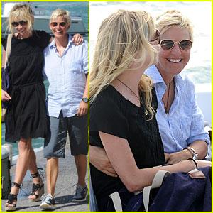Ellen DeGeneres & Portia de Rossi: We're on a Boat!