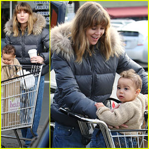 Ellen Pompeo: Grocery Shopping with Stella!