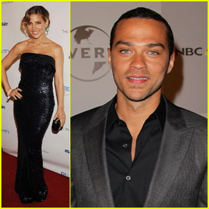 Jesse Williams & Elsa Pataky: Golden Globes Party People!