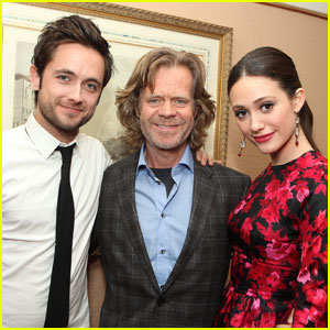 Emmy Rossum & Justin Chatwin: 'Shameless' at TCA Tour