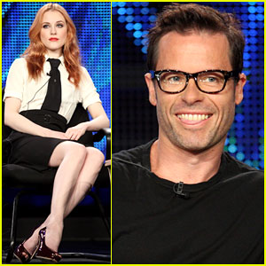 Evan Rachel Wood & Guy Pearce: TCA for 'Mildred Pierce'