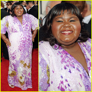 Gabourey Sidibe - Golden Globes 2011 Red Carpet