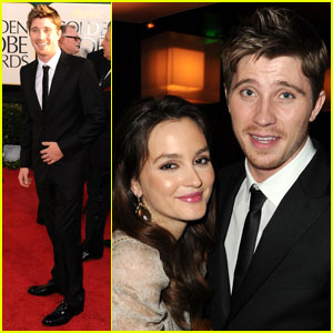 Garrett Hedlund: HBO After Party With Leighton Meester!