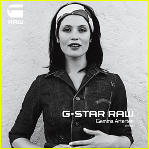 Gemma Arterton: G-Star Ad Campaign!
