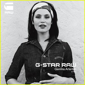 Gemma Arterton: G-Star Ad Campaign!