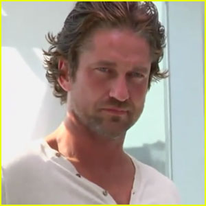 Gerard Butler: Behind the Scenes of L'Oreal Ad!