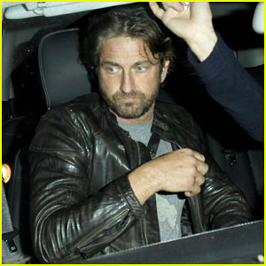 Gerard Butler: Premiere Party Guy!