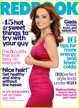 Giada De Laurentiis Covers 'Redbook' February 2011