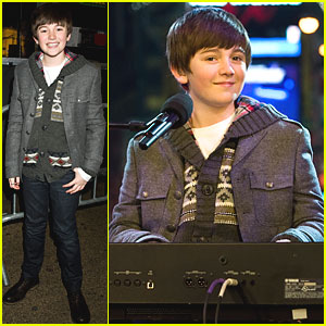 Greyson Chance: New Year's Eve in NYC!