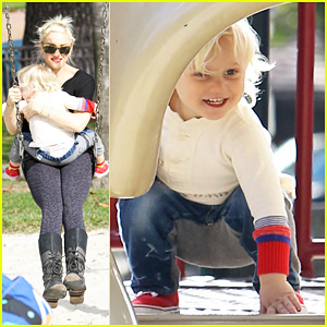 Gwen Stefani: Park Playdate with Zuma!
