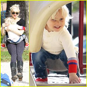 Gwen Stefani: Park Playdate with Zuma!