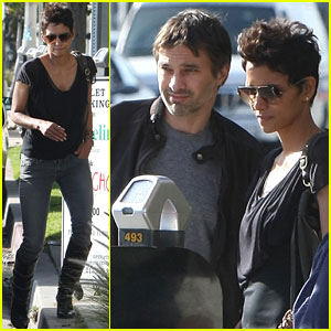 Halle Berry: Angelini Lunch with Olivier Martinez