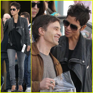 Halle Berry: Art Show with Olivier Martinez