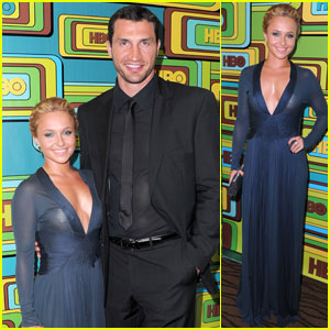 Hayden Panettiere: HBO Golden Globes Party!