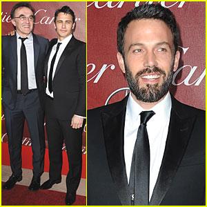 Ben Affleck & James Franco: Palm Springs Film Fest!