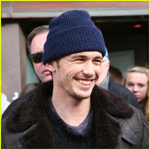 James Franco's Silver Sundance Interview - Exclusive!