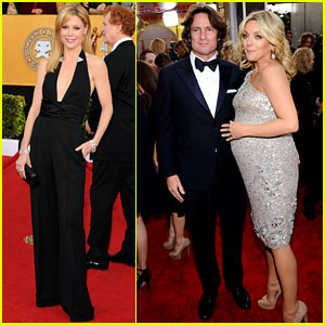 Jane Krakowski & Julie Bowen - SAG Awards 2011 Red Carpet