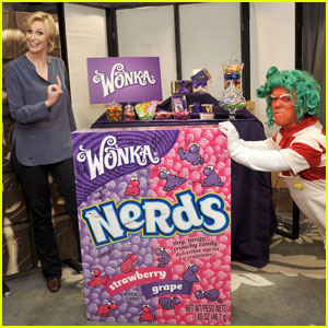 Jane Lynch Gets Nerdy at 'Stuff You Must' Lounge