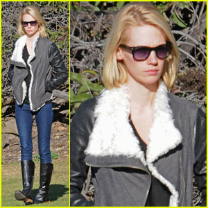 January Jones: My 'X-Men' Costume Is Insane