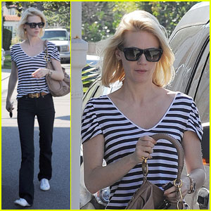 January Jones: AAA Billiards Babe