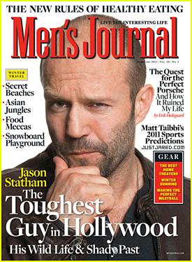 Jason Statham Covers 'Men's Journal' February 2011