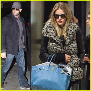 Rosie Huntington-Whiteley & Jason Statham: LAX Lovebirds