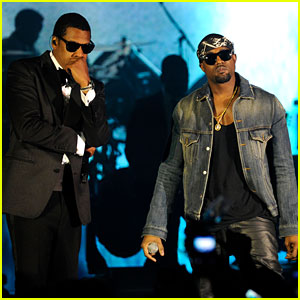 Jay-Z & Kanye West: New Year's Eve Performance!