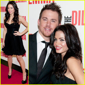 Channing Tatum: 'Dilemma' Premiere with Jenna Dewan!