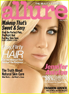 Jennifer Aniston Covers 'Allure' February 2011